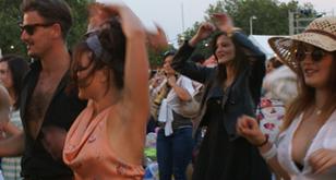 Outdoor Salsa Festival Dance